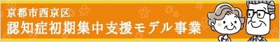 京都市西京区認知症初期集中支援モデル事業