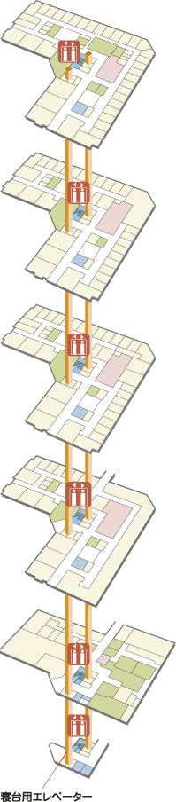 A棟map