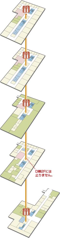 D棟map